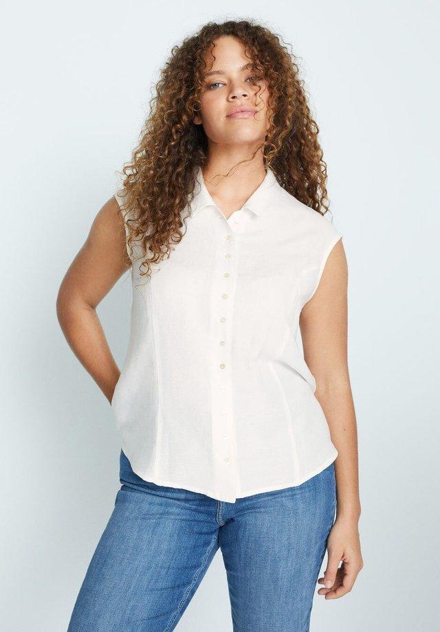 COTILIP - Button-down blouse - weiß