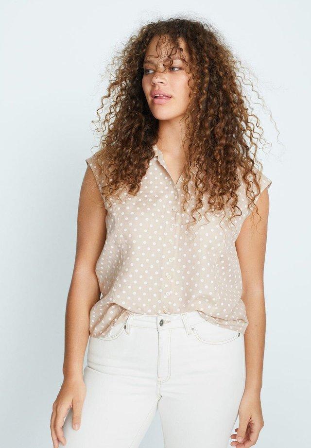 COTILIP - Skjortebluser - beige