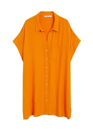 RUTHI - Button-down blouse - orange