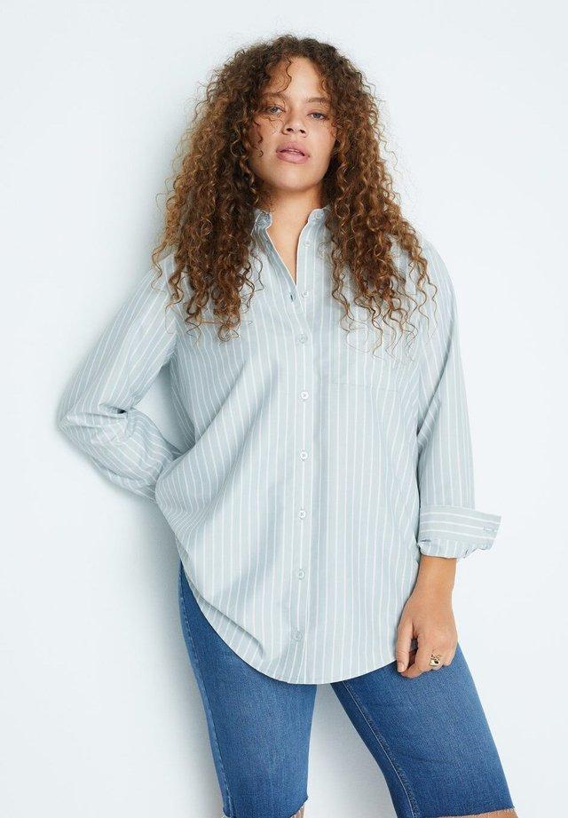 GROUP - Button-down blouse - pastellgrün