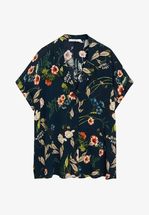 BOTANIC6 - Skjorte - petrolblau