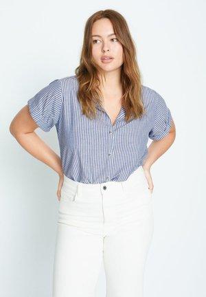 POPEL - Button-down blouse - himmelblau