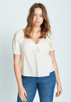 SUISSI6-I - Blouse - weiß