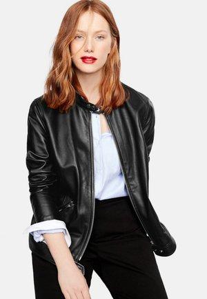 CHELSEA - Leren jas - black