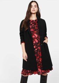 Violeta by Mango - ROSI - Krótki płaszcz - black - 0