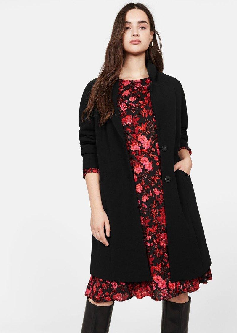 Violeta by Mango - ROSI - Krótki płaszcz - black