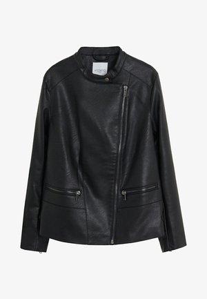 BARROW - Chaqueta de cuero sintético - black