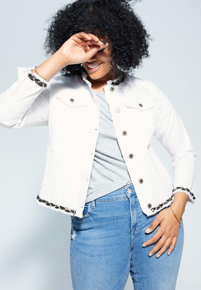 COCO - Denim jacket - weiß