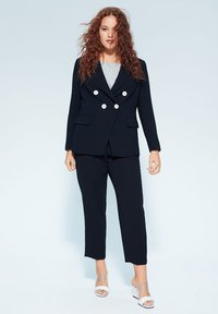 Violeta by Mango - VERONIKA - Blazer - dark navy blue - 1