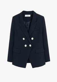 Violeta by Mango - VERONIKA - Blazer - dark navy blue - 4