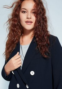 Violeta by Mango - VERONIKA - Blazer - dark navy blue - 3