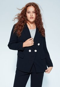Violeta by Mango - VERONIKA - Blazer - dark navy blue - 0