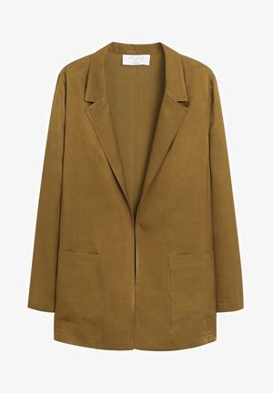 LUCIA - Short coat - olijfgroen