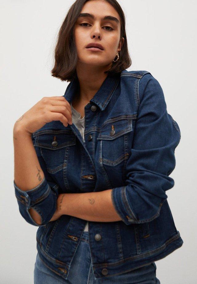 SARAH - Denim jacket - mørkeblå