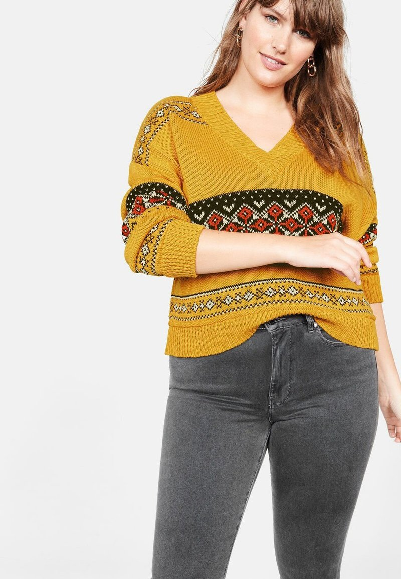 Violeta by Mango - COUNTRY - Jumper - yellow