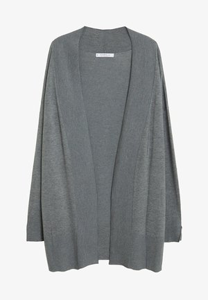 LISA - Cardigan - mottled medium gray