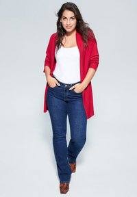 Violeta by Mango - LISA - Cardigan - cherry red - 1