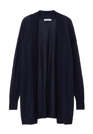 LITHI - Cardigan - dunkles marineblau