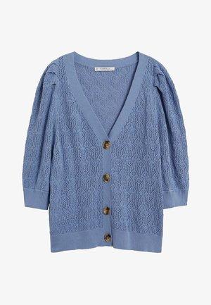 CORA - Cardigan - himmelblau
