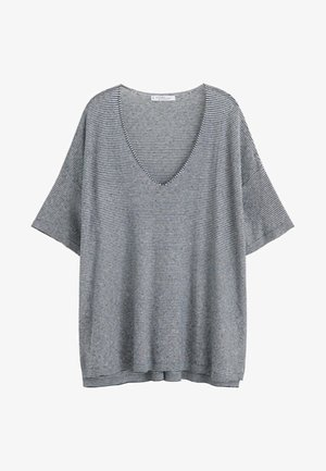 MISTURE - T-shirt imprimé - dark navy