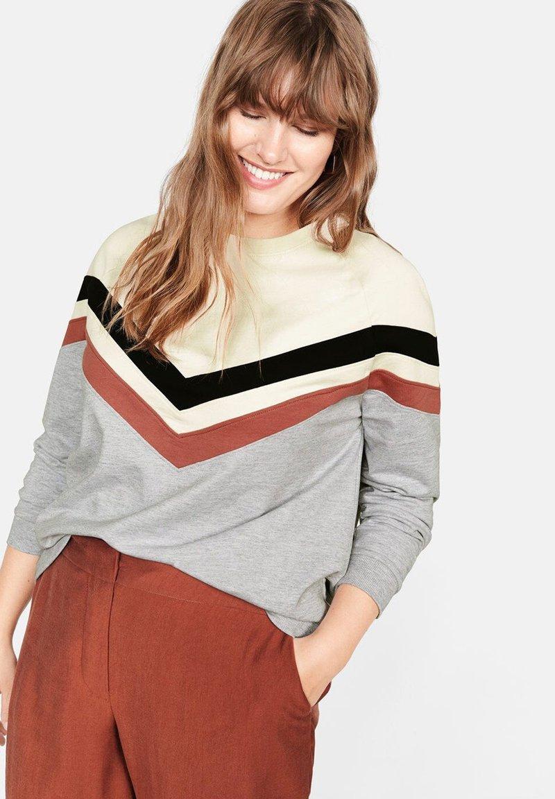 Violeta by Mango - BLOCK - Sweatshirt - grey