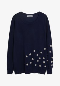 Violeta by Mango - MARGARIT - Jersey de punto - dark navy blue - 3