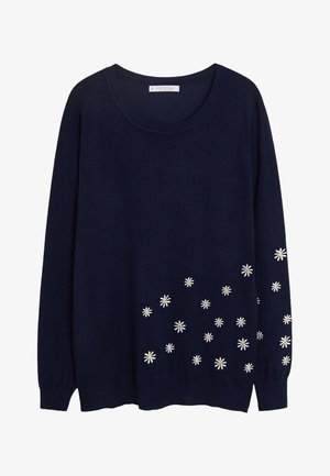 MARGARIT - Strickpullover - dark navy blue
