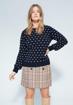 BUBBLES - Pullover - dunkles marineblau
