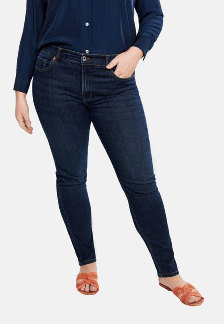 Violeta by Mango - SUSAN - Jeans Slim Fit - dark blue