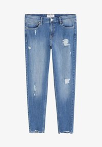 Violeta by Mango - ANDREA - Jeans Skinny Fit - blue - 3
