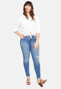 Violeta by Mango - ANDREA - Jeans Skinny Fit - blue - 1