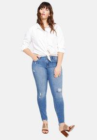 Violeta by Mango - ANDREA - Jeans Skinny - blue - 1