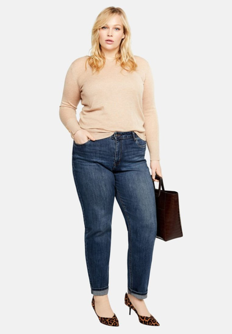 Violeta by Mango - ELY - Straight leg jeans - blue