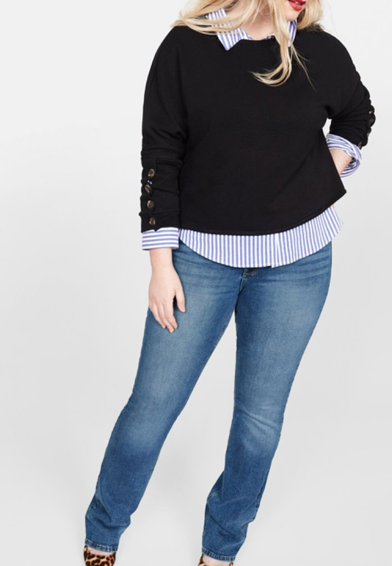 Violeta by Mango - MARTHA - Jeans bootcut - blue