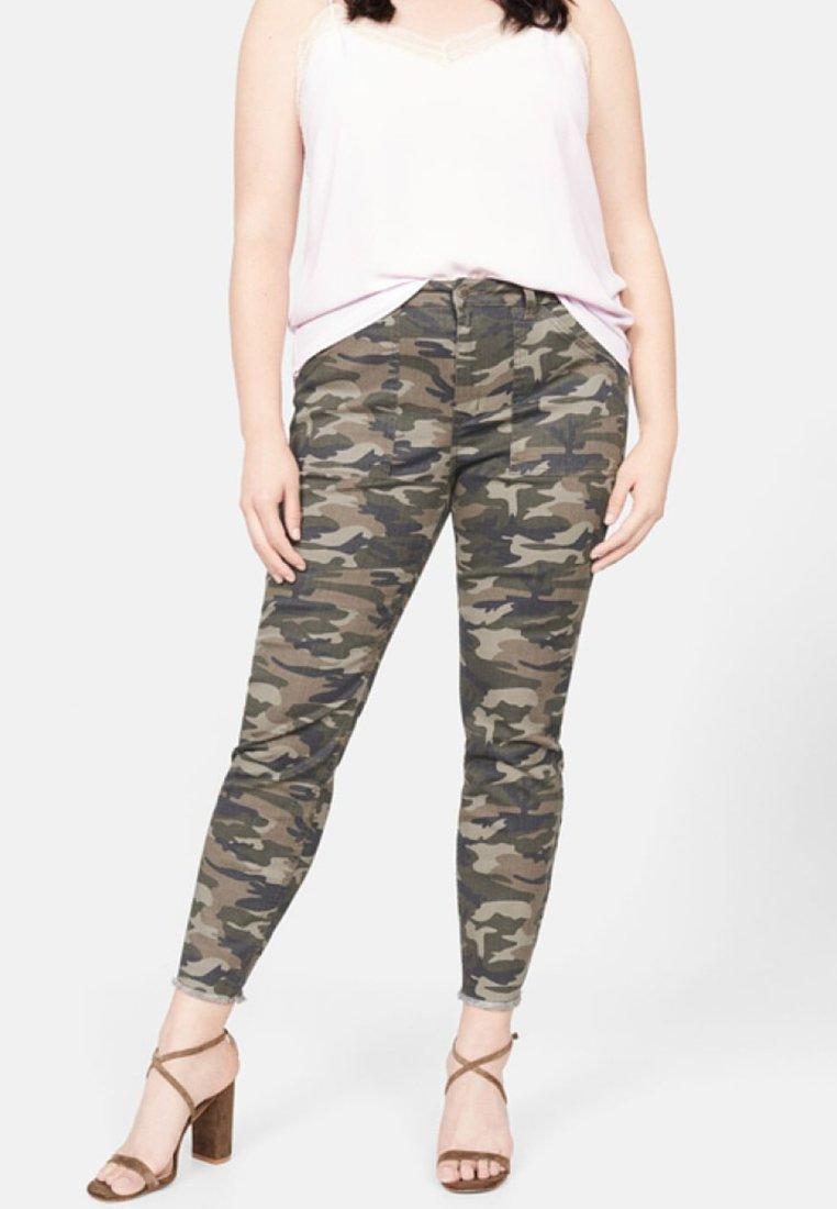 Violeta by Mango - CAMU - Slim fit jeans - khaki