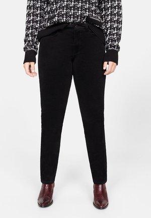 PANI - Spodnie materiałowe - black