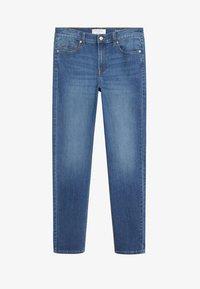 Violeta by Mango - SUSAN - Jeans Slim Fit - dark blue - 3