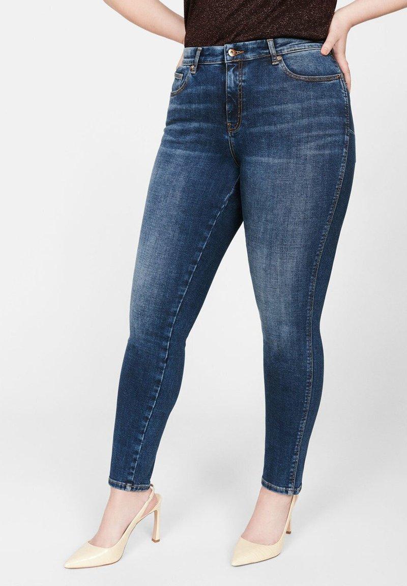 Violeta by Mango - IRENE - Jeans Skinny Fit - dark blue