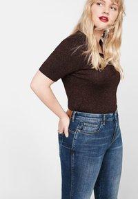 Violeta by Mango - IRENE - Jeans Skinny Fit - dark blue - 3