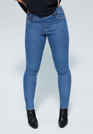 MASSHA - Jegging - medium blue