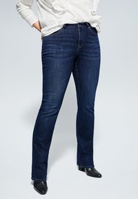 Violeta by Mango - MARTHA - Slim fit jeans - dark blue - 0