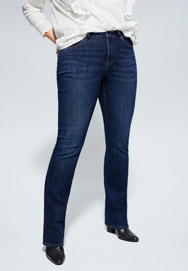 MARTHA - Jeansy Slim Fit - dark blue