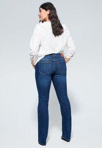 Violeta by Mango - MARTHA - Slim fit jeans - dark blue - 2