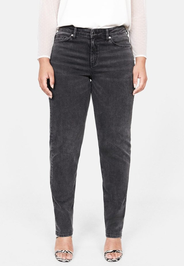 THERESA - Jeans Slim Fit - open grey