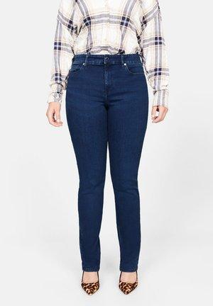 THERESA - Jeans Slim Fit - intensives dunkelblau