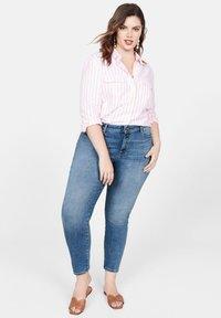 Violeta by Mango - IRENE - Jeans Skinny - mittelblau - 1