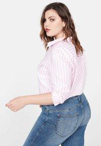 Violeta by Mango - IRENE - Jeans Skinny - mittelblau - 2