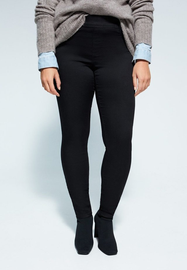 JEGGINGS MASSHA - Jegginsy - black denim
