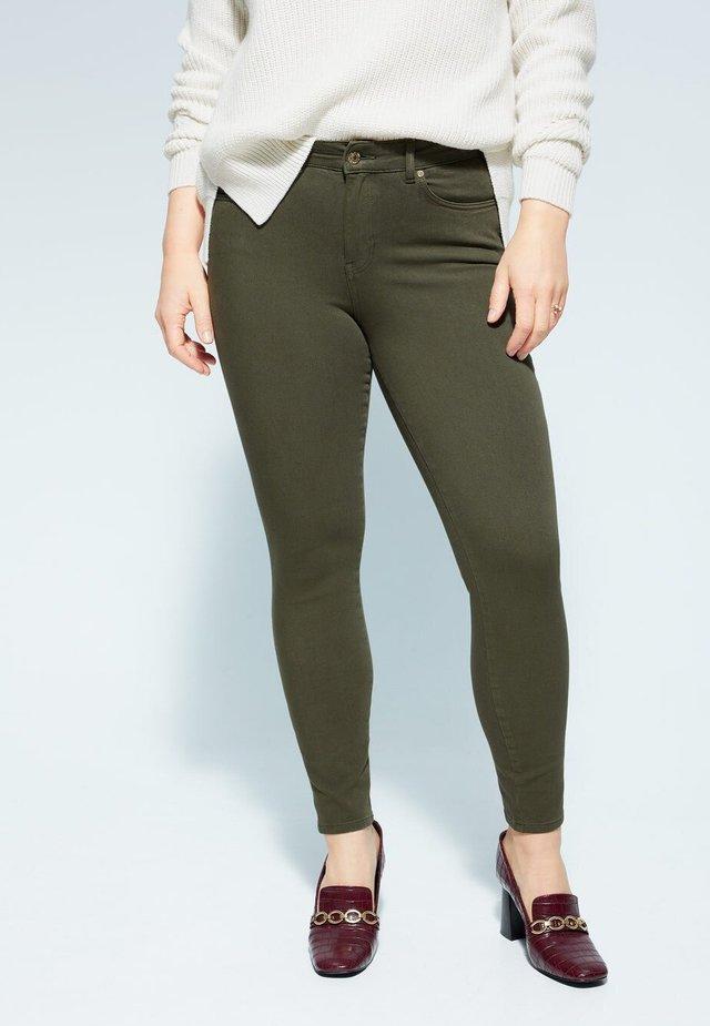 IRENE - Jeans Skinny Fit - khaki