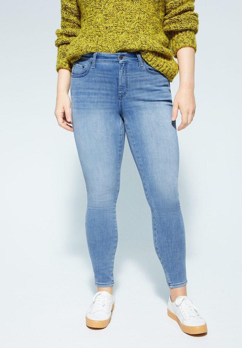 Violeta by Mango - IRENE - Jeans Skinny Fit - hellblau